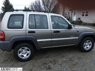 For Sale/Trade: 2004 Jeep Liberty 4x4