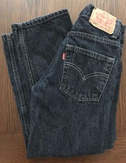 Boys Levi jeans size 8 slim. EUC! No rips or stains.