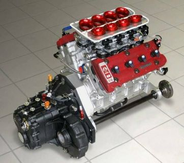 HHartley H1 Hayabusa V8 Engine