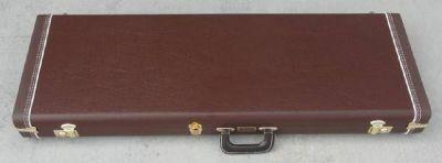Fender CUSTOM SHOP Stratocaster/Telecaster Case 1950's Brown Vinyl - BRAND NEW