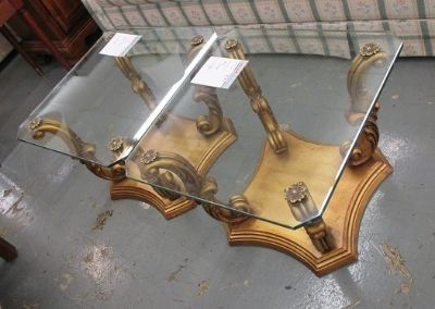 Hollywood Regency Style End Tables, 2 Available