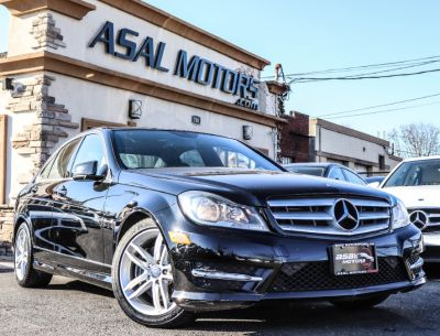 2013 Mercedes-Benz C-Class C300 4MATIC Luxury (Obsidian Black Metallic)