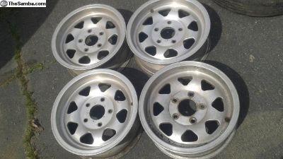 Mcafee style 5 lug Gurney Western wheels rim 911