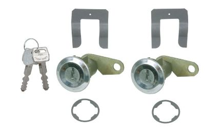 Purchase 1967-1973 FORD MUSTANG & COUGAR DOOR LOCKS motorcycle in Lawrenceville, Georgia, US, for US $16.95