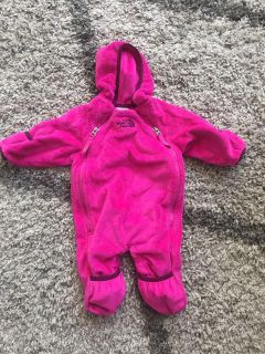 Like New North Face Plush Winter Suit