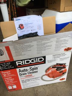 Ridged K30 Auto-Spin Drain Cleaner