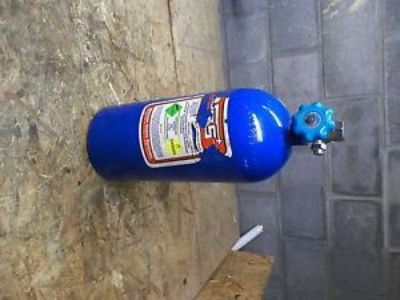 Purchase NOS - Nitrous Oxide Bottle - Blue (Lot 4565) motorcycle in Albertville, Alabama, United States