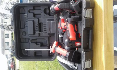 BOX OF POWER TOOLS