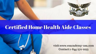 Home health aide classes starting soon. Enroll Now