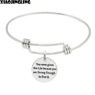 ***Ladies Inspirational Bracelet***You Were Given This Life....