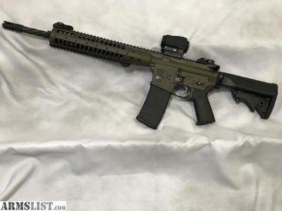 """For Sale: LWRC IC SPR 16"""" 223/5.56 NATO AR-15 Rifle"""