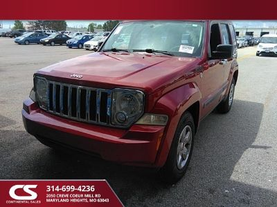 2010 Jeep Liberty Sport (Inferno Red Crystal Pearlcoat)