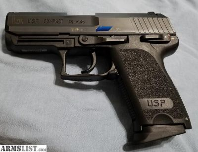 For Sale/Trade: HK USP 45 Compact .45