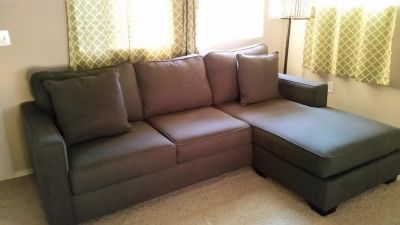 Couch with Reversible Chaise
