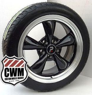 "Sell 17x8"" Classic 5 Spoke Black Wheels Federal Tires for Olds Cutlass Supreme 1986 motorcycle in Grand Terrace, California, US, for US $1,069.00"