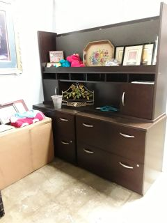 File cabinets (2) and Hutch @ Brass Bear 2652 Valleydale Rd Birmingham--Hoover area 35244 -- 205-566-0601