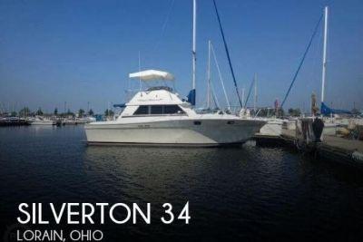 1980 Silverton 34 Convertible