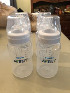 4-9 ounce Avent Baby Bottles PPU COLUMBIA
