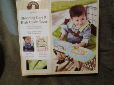 carters shopping cart  high chair cover