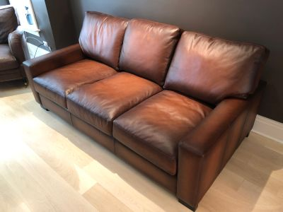 Leather Sleeper Sofa Mint Condition