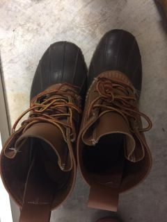 Ladies LL BEAN boots size 8