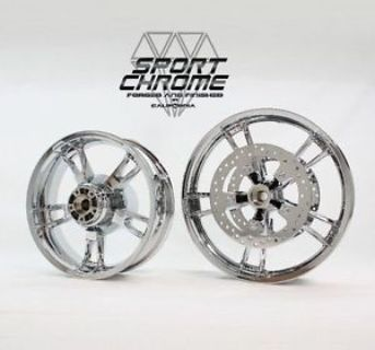 Find 2009-2013 Harley FLHX Street Glide Airstrike Chrome Wheels Rims Set ft 18 r 16 motorcycle in Warminster, Pennsylvania, United States, for US $999.99