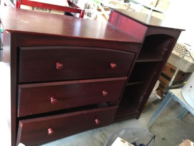 Changing table or dresser