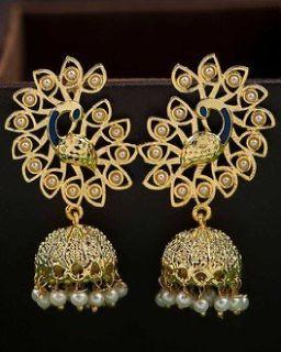 Buy Earrings for Women - Pearl, Artificial, Stud, Kundal Earrings Online | Voylla