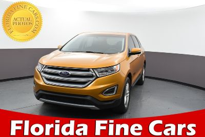 2016 Ford Edge SEL (orange)