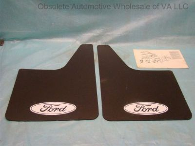 Find 1980 - 2016 Ford Expedition F150 F250 F350 Truck Front Rear Flat Mud Flaps motorcycle in Vinton, Virginia, United States, for US $39.99