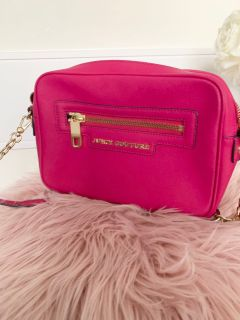 Fuschia Juicy Couture Camera bag