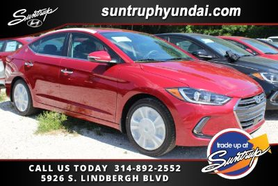 2017 Hyundai Elantra Limited (Scarlet Red Pearl - Red)