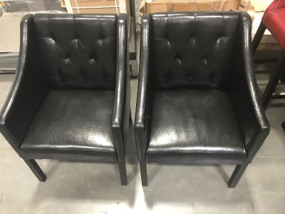 Accent Chairs- Black