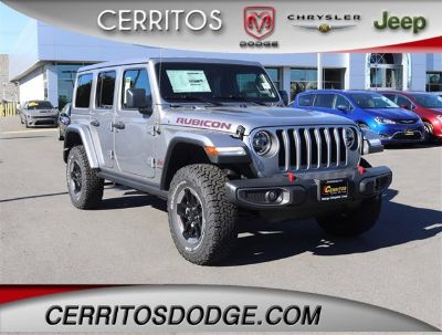 2019 Jeep Wrangler Unlimited Rubicon (Billet Silver Metallic Clearcoat)