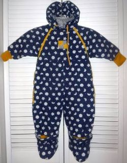 Gymboree XS 6-12mo Hooded Snowsuit / Bunting