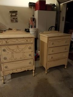 pair Chester drawers made sometime before the twentys