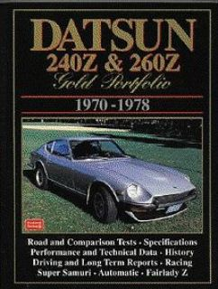 Find Datsun 240Z 260Z Gold Portfolio Clarke 1970 1971 1972 1973 1974 75 76 77 78 NEW! motorcycle in New Kensington, Pennsylvania, United States, for US $27.95
