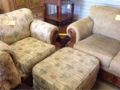 Chair and Ottoman 2286-316