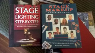Theatre books..lighting and makeup