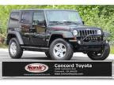 Used 2011 Jeep Wrangler Unlimited Black Clear Coat, 68.5K miles