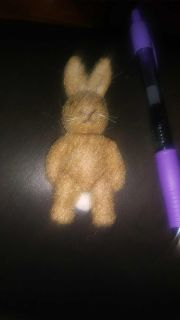 cute little bunny great for crafts new condition