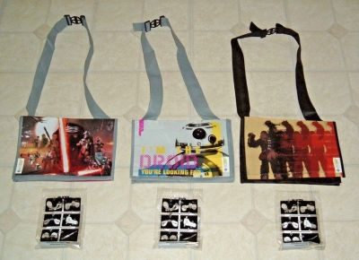 NEW (3) Star Wars Subway Series RARE EXCLUSIVE 3 Bag Bundle w Lightsaber Toy Set Lot