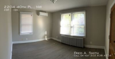 ($1,150 off first months rent) Renovated Two-Bedroom + Den in Glover Park  - 2204 40th Pl., NW