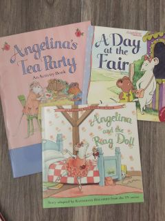 Angelina Ballerina books. New