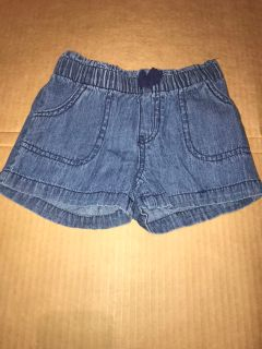 4T Circo denim/ jean shorts