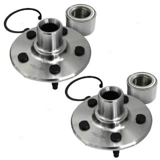 Sell New Pair Set Rear Wheel Hub & Bearing Assembly Kit Mercury Ford Lincoln SUV motorcycle in Dallas, Texas, US, for US $52.08