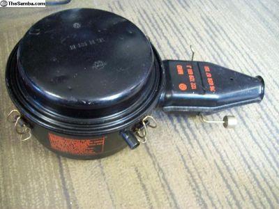 NOS oil bath air filter p/n 122129611J 3602887151