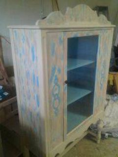 ANTIQUE FURNITURE TURNED NEW (ARMOIR)