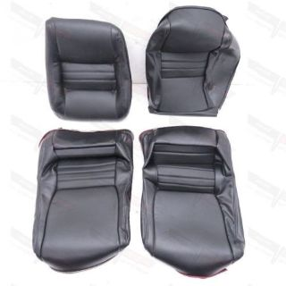 Find Corvette Black Vinyl Clam Shell Seat Covers Complete Set (4 Pieces) 1978-1982 motorcycle in Livermore, California, United States, for US $424.97