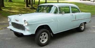 1955 Chevrolet Bel Air 2-DR Post
